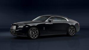 2021 Rolls-Royce Wraith Black Badge side