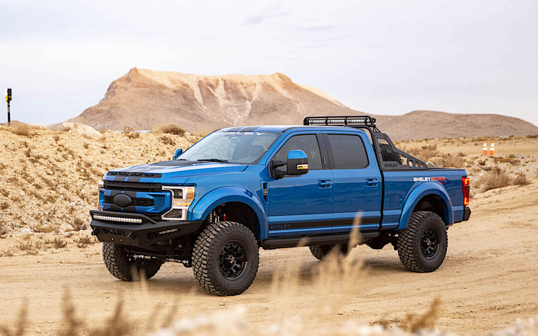 Shelby American Offers Beefed Up New F-250 Super Baja
