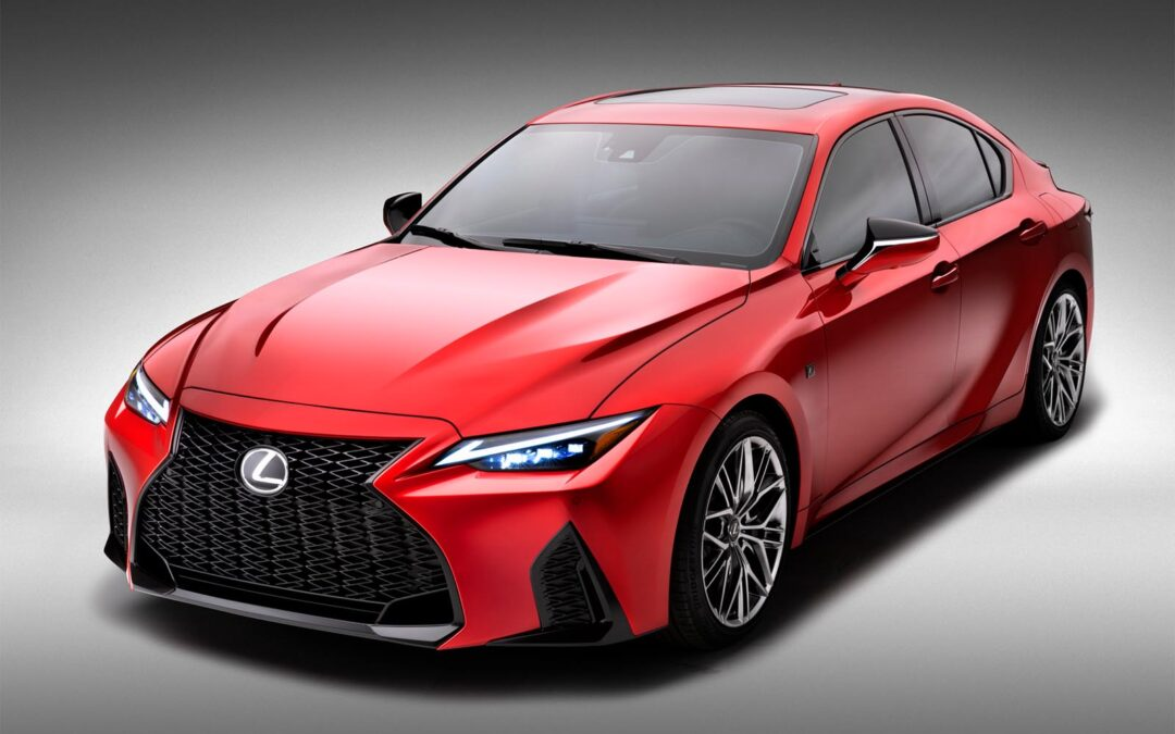 First Look: 2022 Lexus IS 500 F Sport Performance