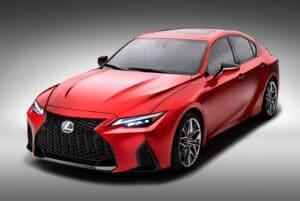 2022 Lexus IS 500 F Sport Performance - front 3-4