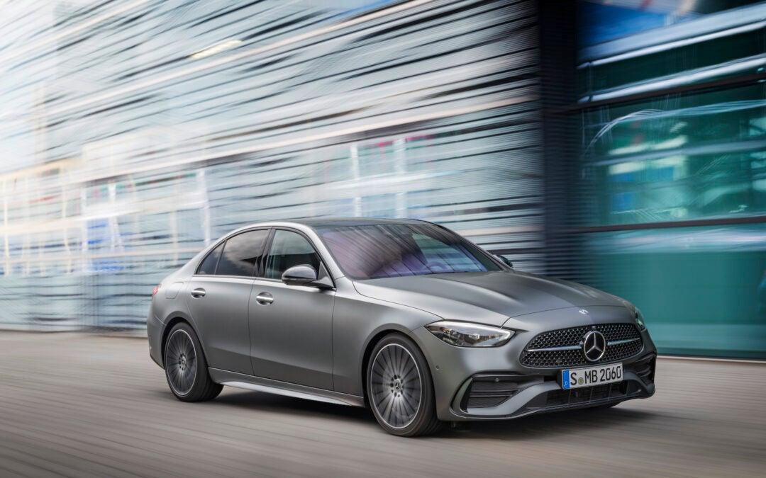 First Look: 2022 Mercedes-Benz C-Class