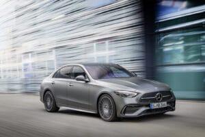 2022 Mercedes C-Class driving