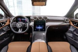 2022 Mercedes C-Class interior