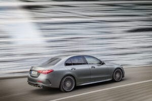 2022 Mercedes C-Class rear