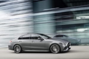 2022 Mercedes C-Class side