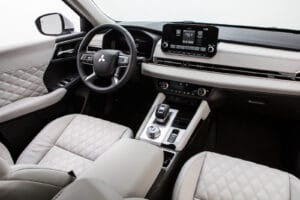2022 Mitsubishi Outlander interior shown