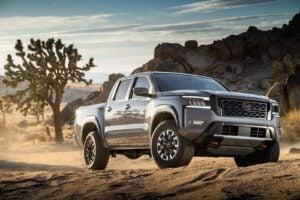 2022 Nissan Frontier beauty shot