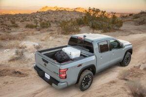 2022 Nissan Frontier bed