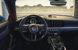 2022 Porsche 911 GT3 cockpit