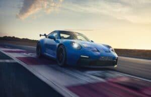 2022 Porsche 911 GT3 front driving