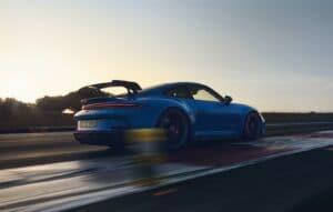 2022 Porsche 911 GT3 rear driving