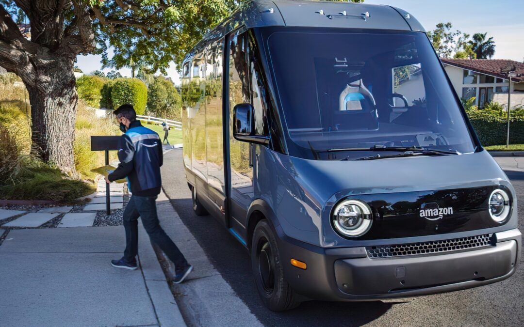 Rivian, Amazon Expanding Electric Delivery Van Testing