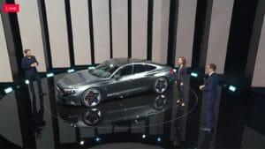 Audi RS e-tron GT - debut high angle