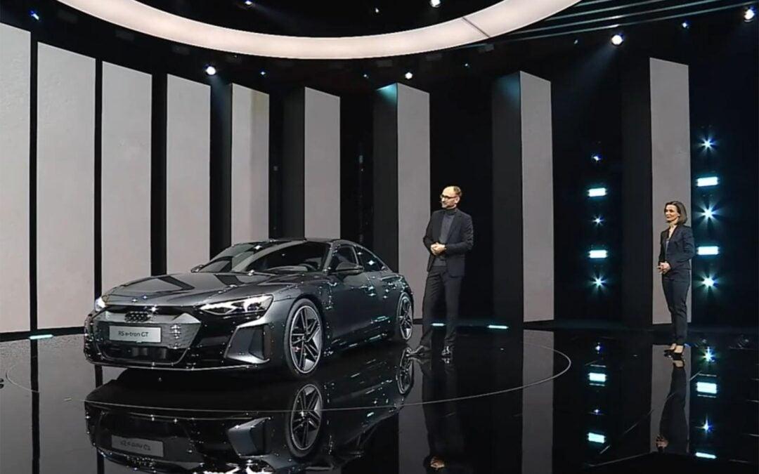 First Look: 2022 Audi e-tron GT
