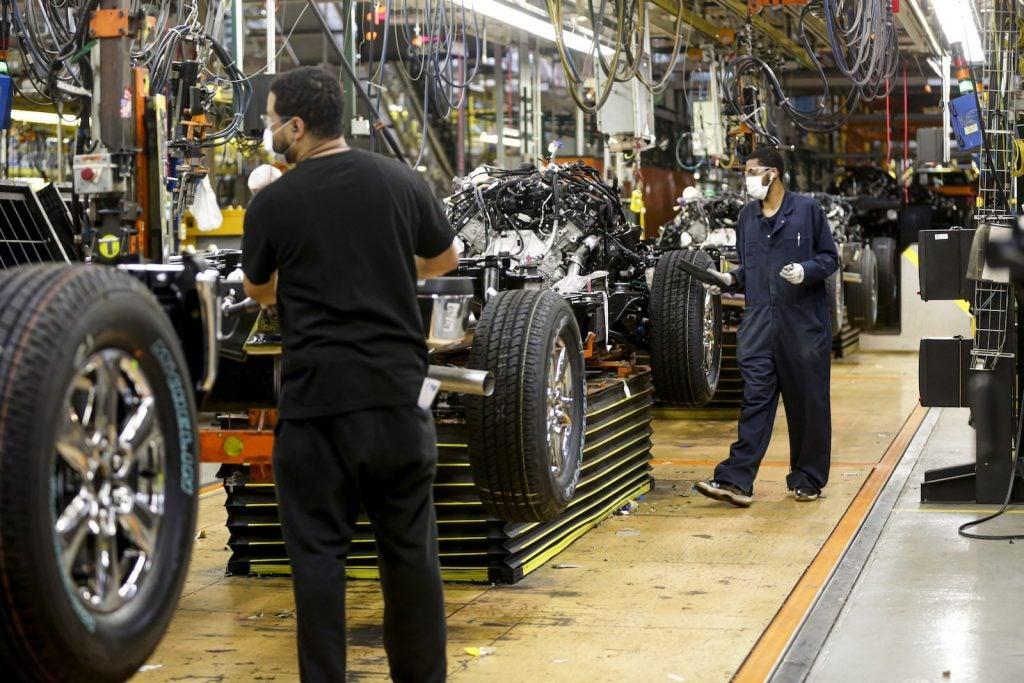 Ford Dearborn Truck restart 2020
