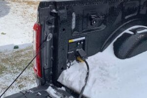 Ford F-150 hybrid powering Texas home 2020