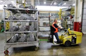 GM Bedford casting plant