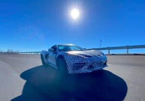 GM MATT Corvette testing