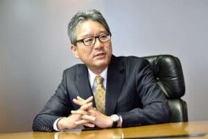 Honda's Toshihiro Mibe
