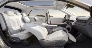Hyundai Ioniq 5 full interior cutaway