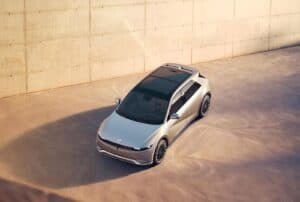 Hyundai Ioniq 5 high angle
