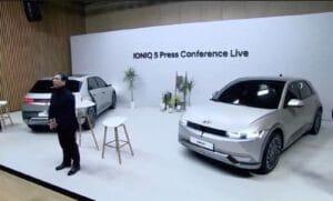 Hyundai Ioniq 5 - press conference