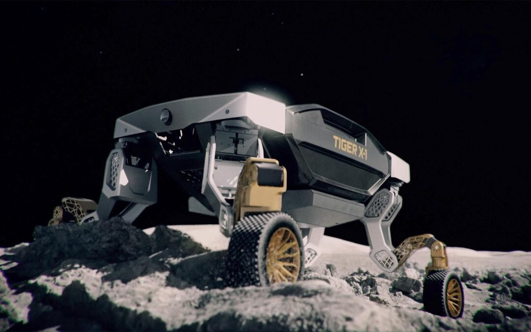 Hyundai TIGER is a Wild, Walking Vehicle That Could Serve in the Jungle – or on the Moon