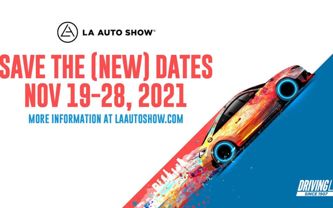 LA Auto Show Reschedules – Again