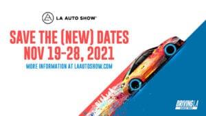 LA Auto Show 2021 announcement