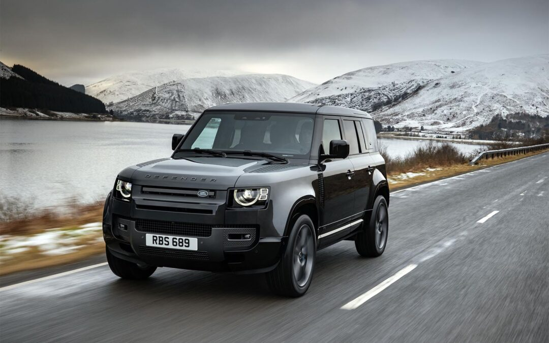 Land Rover Embellishing 2022 V8 Defender Portfolio