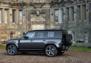 Land Rover Defender 110 V-8 - rear 3-4
