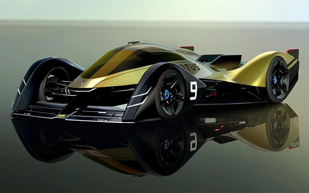 Lotus Reveals the — Electric — Race Car of the Future