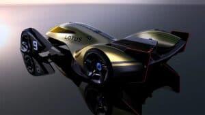 Lotus E-R9 race car - rear 3-4