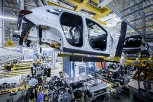 Mercedes-Benz EQ assembly line