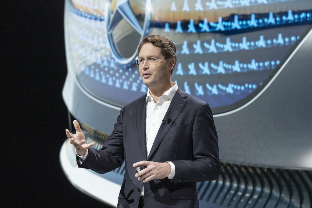 Daimler Chairman Ola Källenius