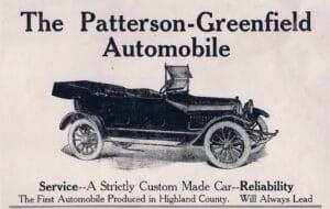 Patterson-Greenfield flyer
