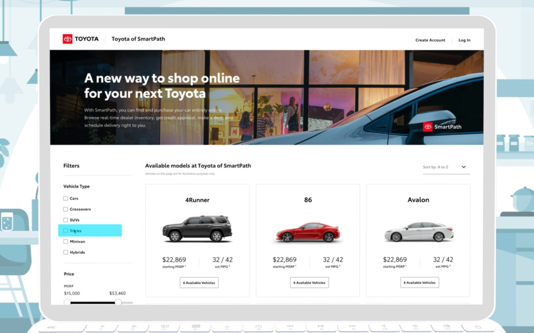 Toyota, Lexus Rolling Out New Online Sales Programs