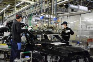 Toyota Takaoka assembly line