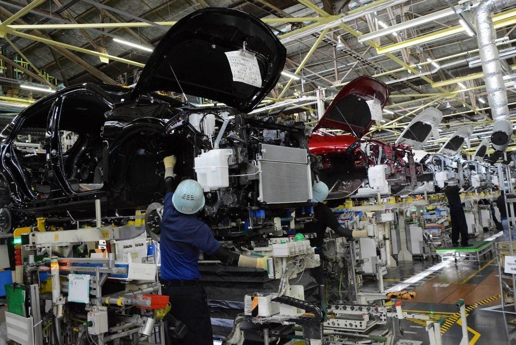 Toyota Takaoka plant assembly station