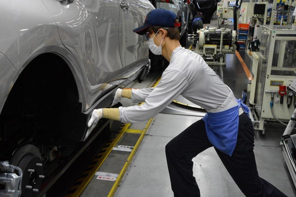 Toyota assembly line Japan