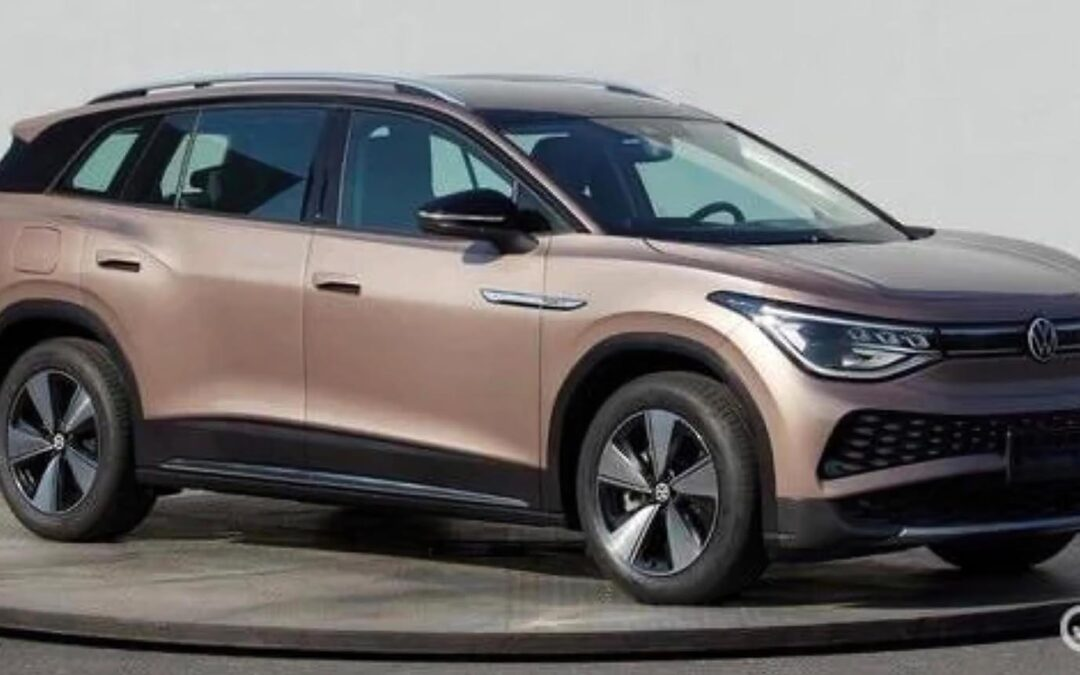 First Look: Images of VW's Big ID.6 EV Leak Out of China