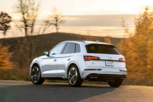 2021 Audi SQ5 rear