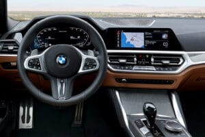 2021 BMW M440i xDrive cockpit