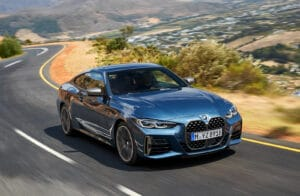 2021 BMW 440i xDrive front
