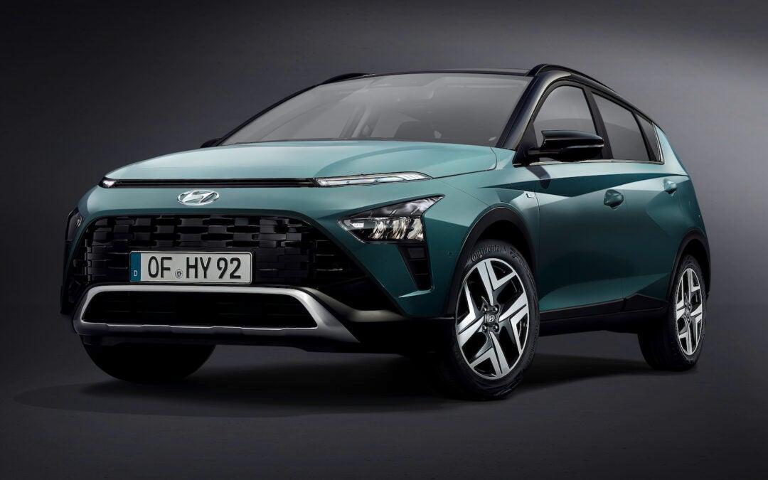 Hyundai Offers First Look at New Bayon Subcompact