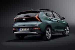 2021 Hyundai Bayon rear