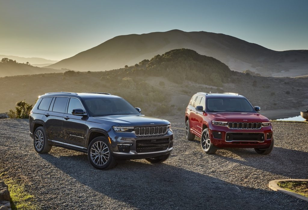 2021 Jeep Grand Cherokee L Summit Reserve and Overland