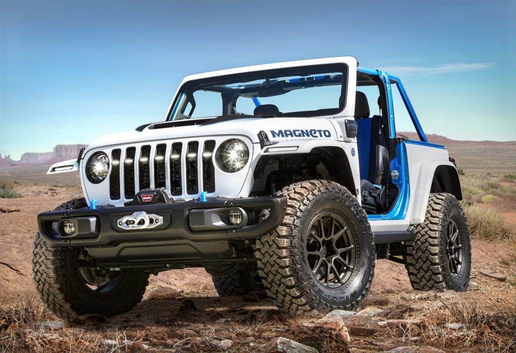 2021 Jeep Magneto concept front