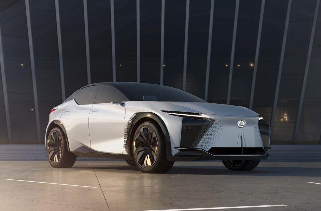 2021 Lexus LF-Z concept front