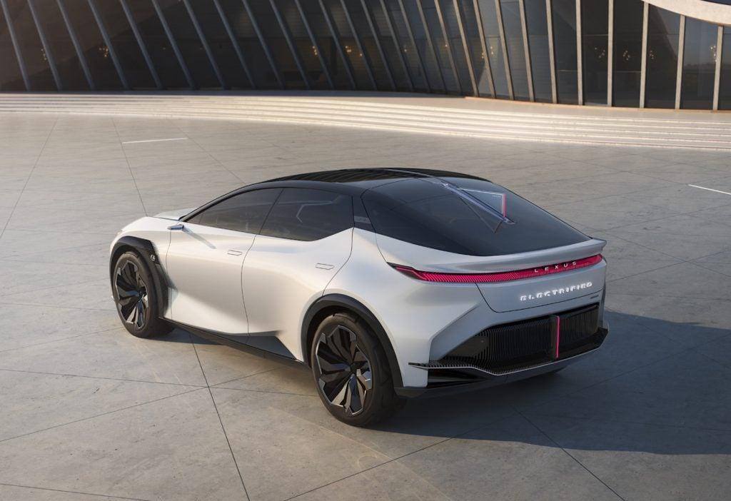 2021 Lexus LF-Z concept rear